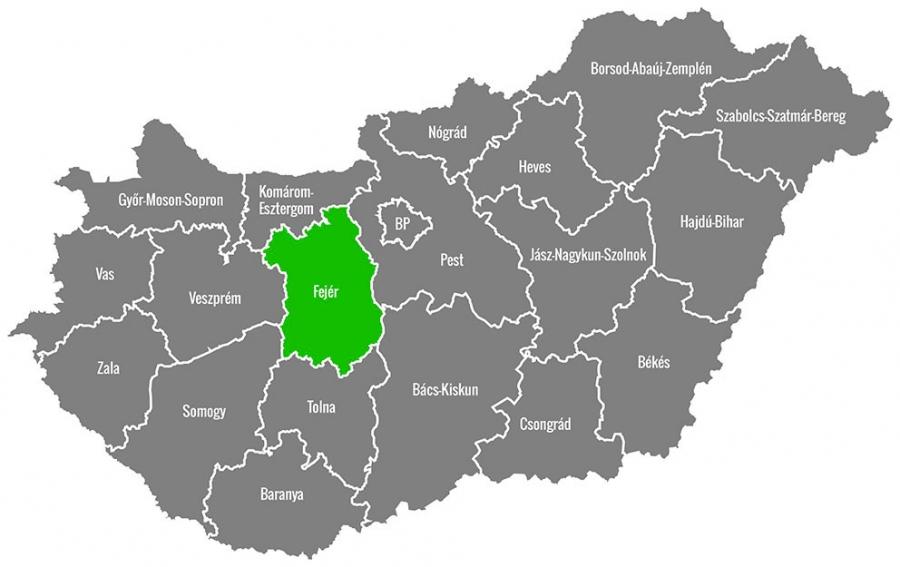 Kertépítés Székesfehérvár és a megye területén